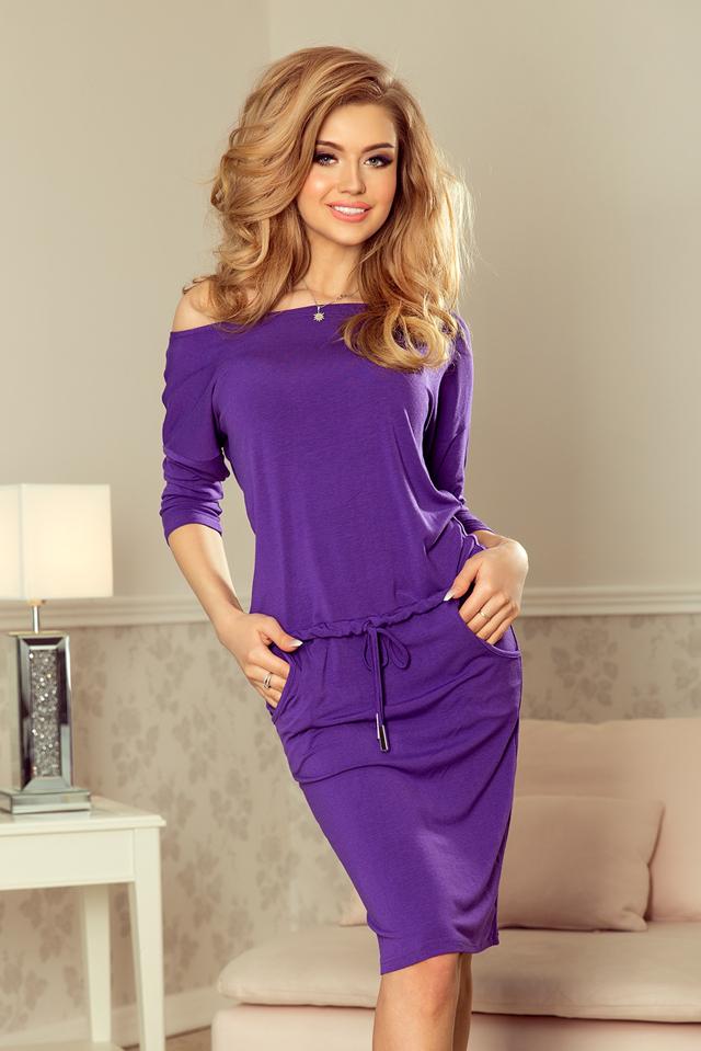 f910078fb2 Dámské fialové sportovní šaty 13-82 - L