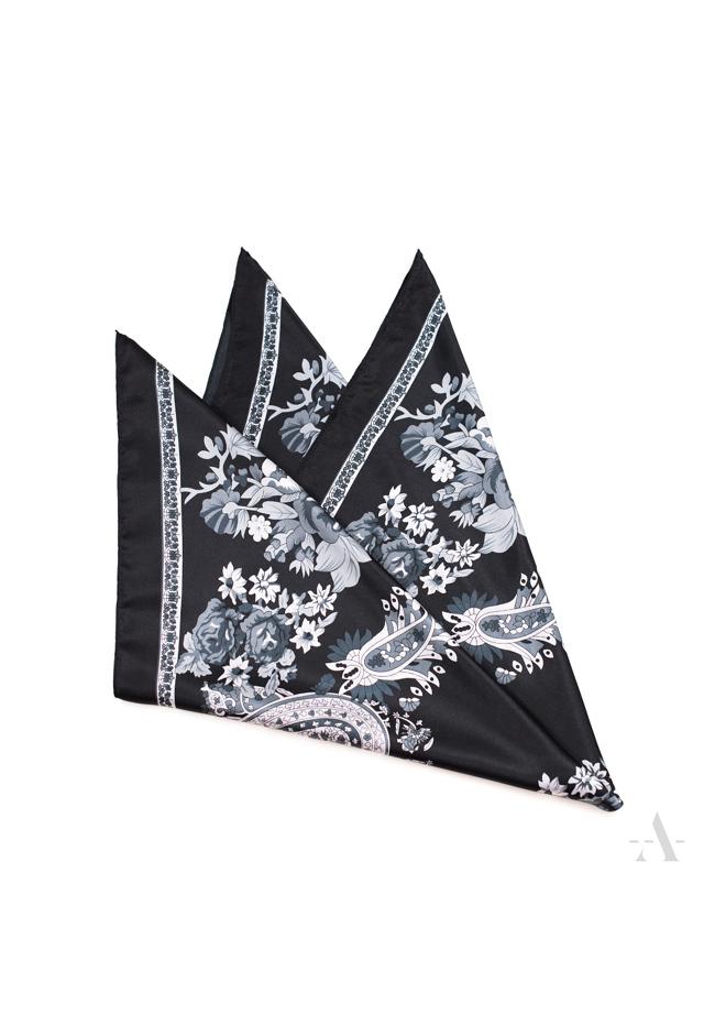 Dámský šátek Art 18921 Flora - 90x90 cm - růžový