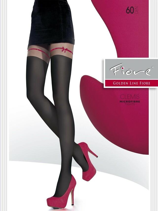 Punčochové kalhoty Fiore Clemis G 5542 60 den - 4-L - černá