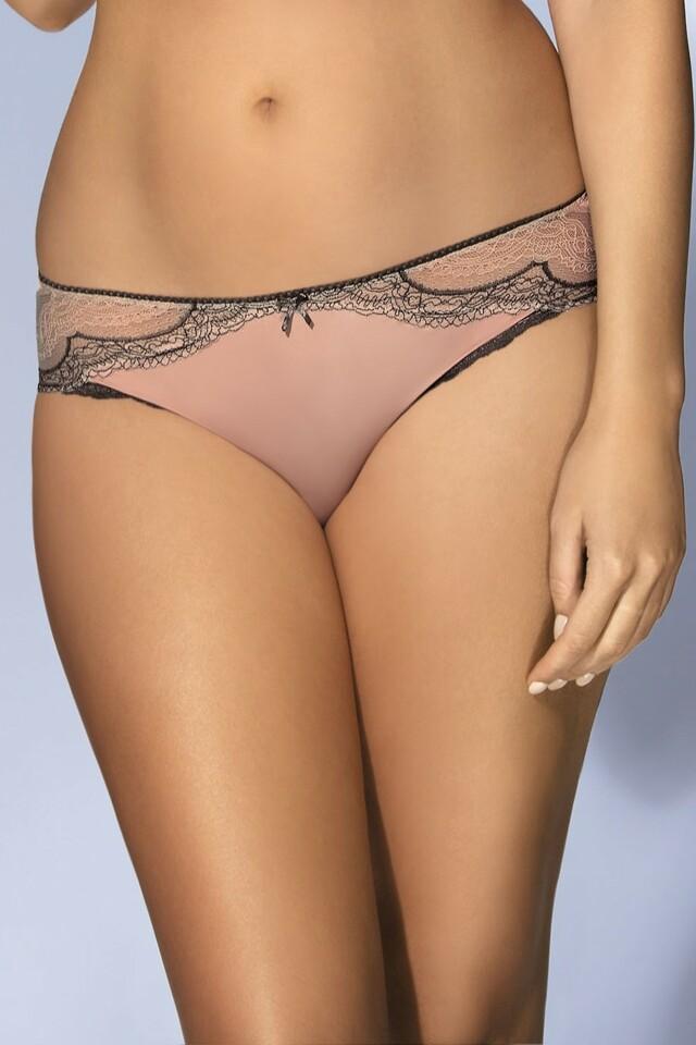 Dámské kalhotky 1386 - XL - pudrově růžová