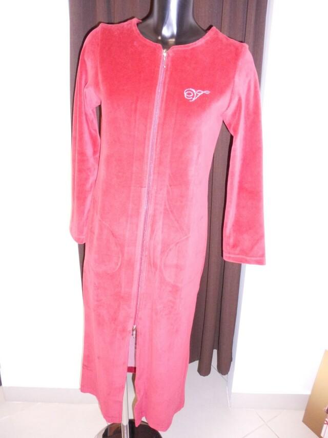 Dámské domácí šaty Rio 5863 - Vestis - M - vínová