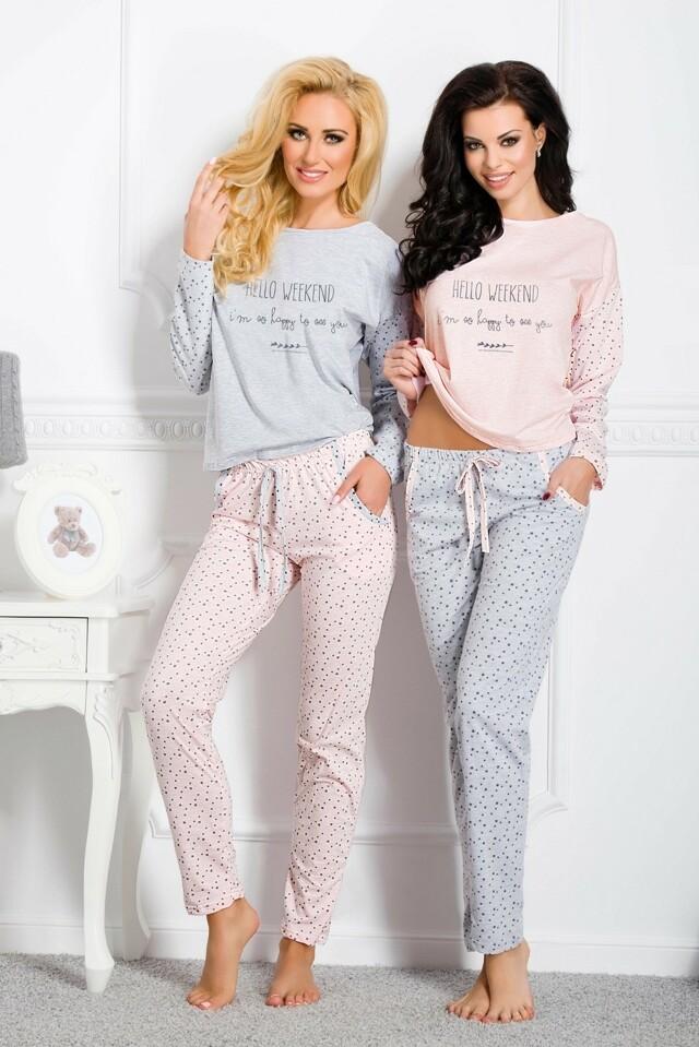 Dámské pyžamo Taro Nadia 1190 dl/r
