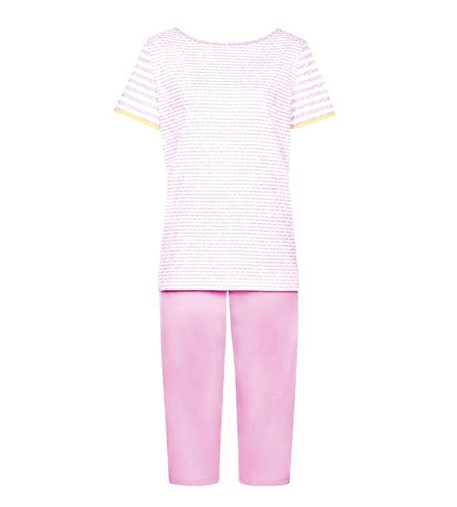 Dámské pyžamo Sporty Stripes SS16 PK Capri - Triumph - 038 - světlá kombinace růžové (M019)