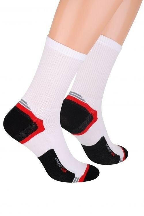 Pánské ponožky Steven art.057 - 41-43 - bílá f493b56278