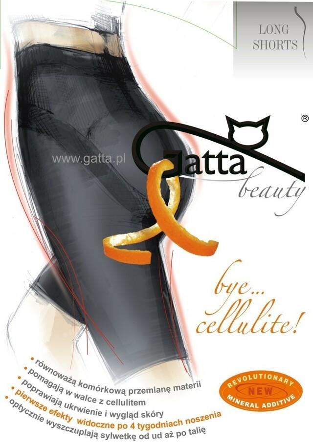 Bye Cellulite LONG-SHORTS - Zeštíhlující šortky - GATTA
