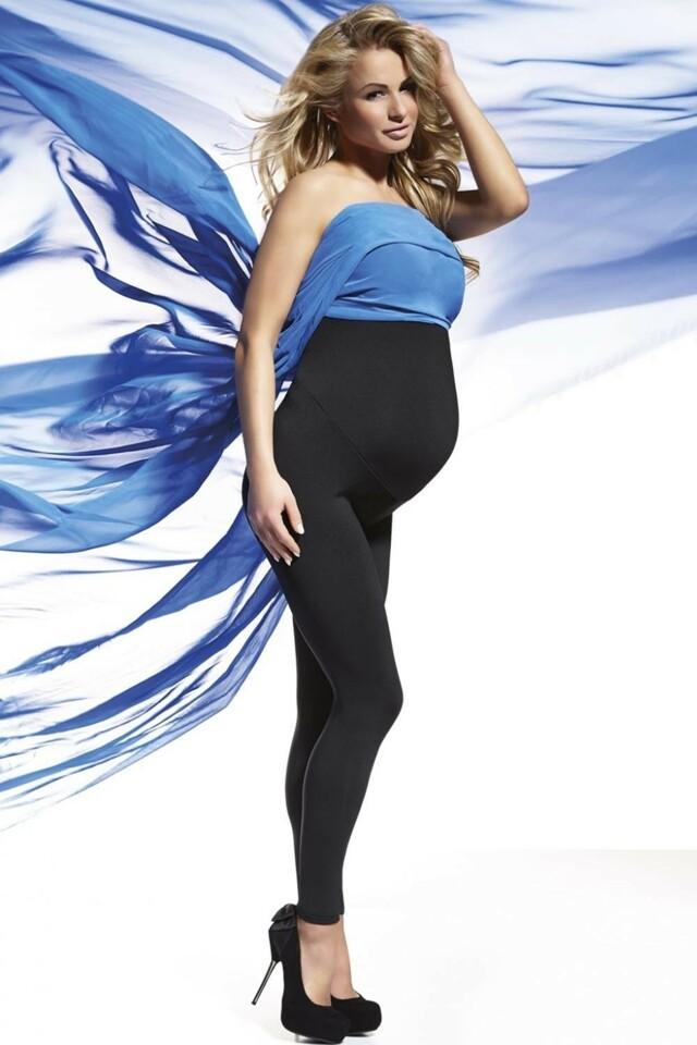Těhotenské legíny Anabel - XXL - černá