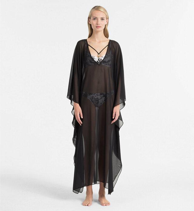 Plážové šaty KW0KW00403-001 černá - Calvin Klein