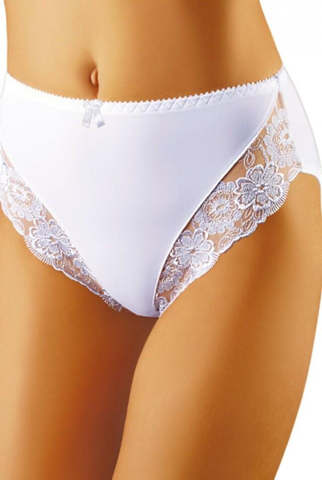 Dámské kalhotky Zaza white - S - bílá