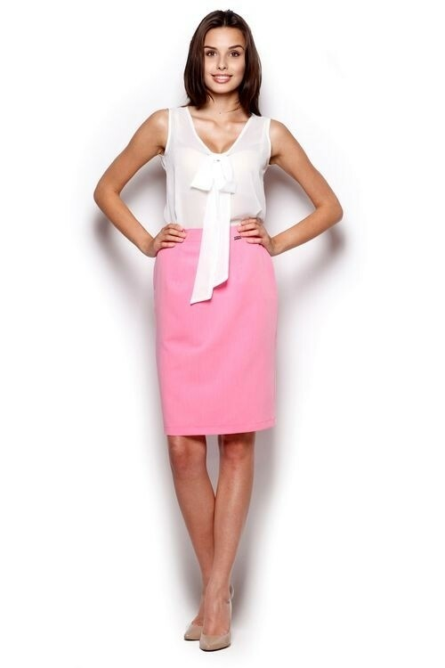 Dámská sukně M308 pink - L - růžová