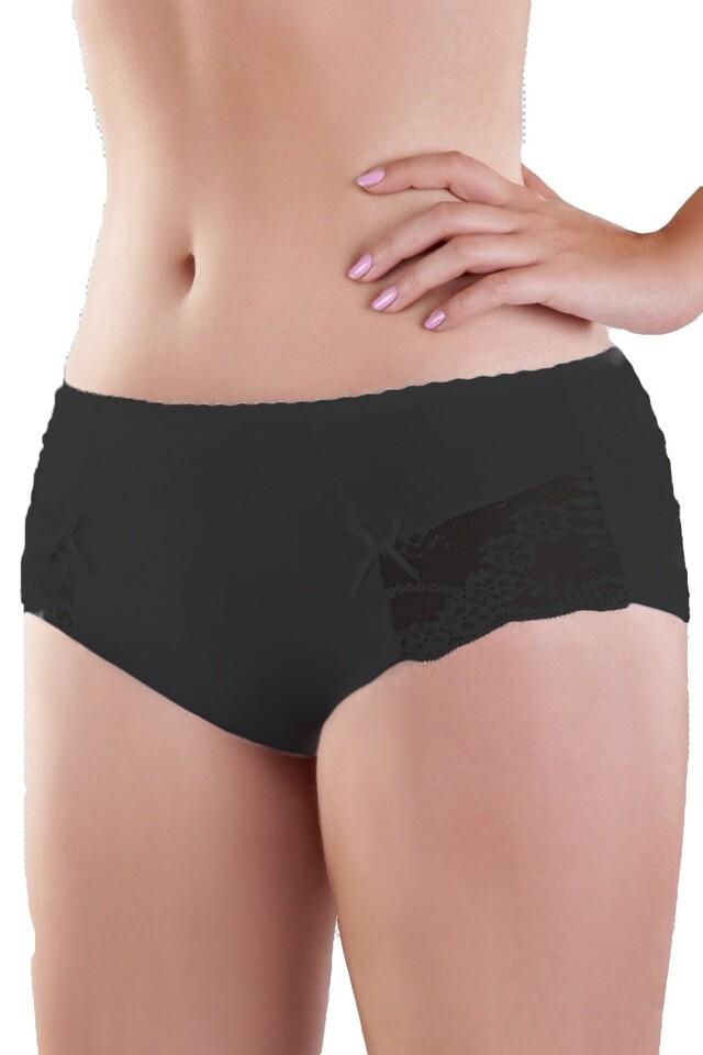 Dámské kalhotky 144 black - M - černá