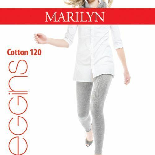 Dámské legíny Cotton 120 - Marilyn - 1/2 - černá