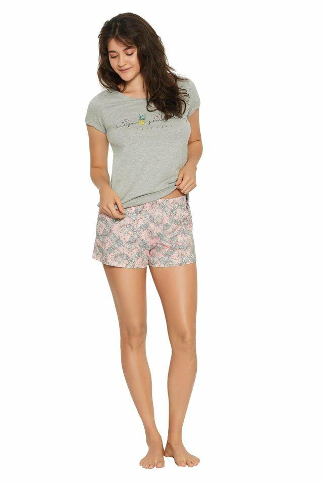Dámské pyžamo 38060 - HENDERSON - M - šedá
