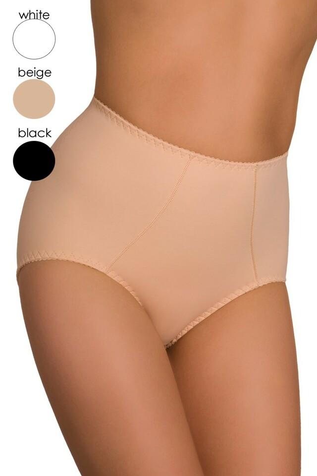 Dámské stahovací kalhotky Verona white - XL - bílá