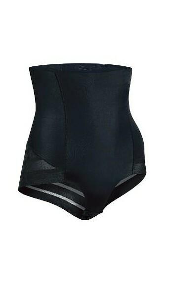 Vysoké dámské kalhotky Julimex Shape & Chic - XL - tmavě modrá