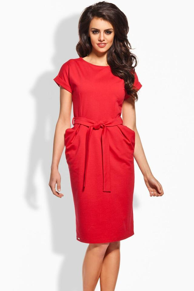 Šaty Lemoniade L129 - M - červená