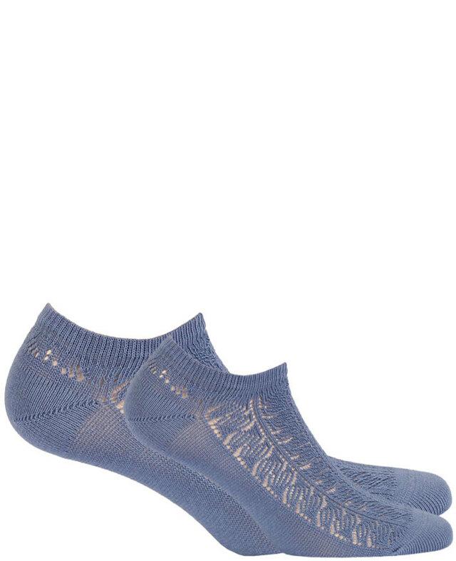 Ažurové dámské ponožky - milka - UNI
