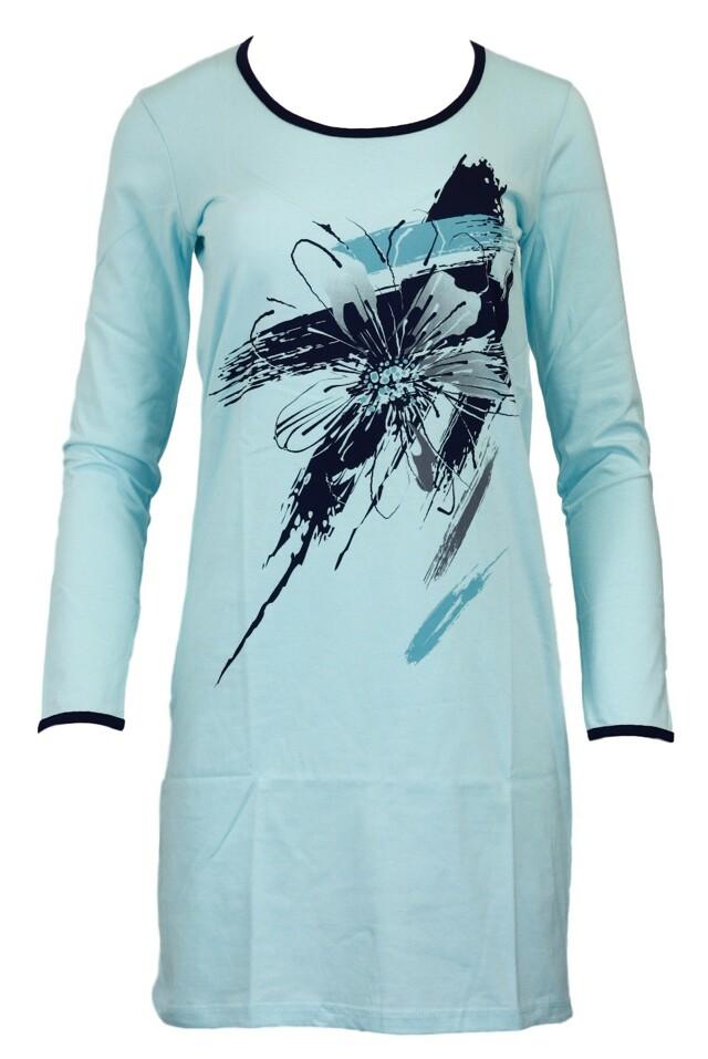 Dámská noční košile Anita - Taro - S - mentolová