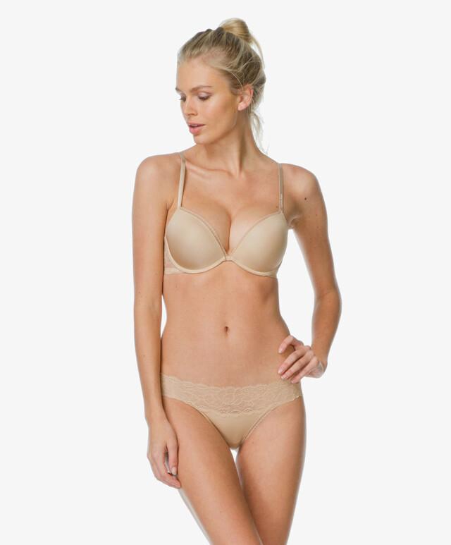 Kalhotky Seductive Comfort Lace QF1200E - Calvin Klein - M - originál