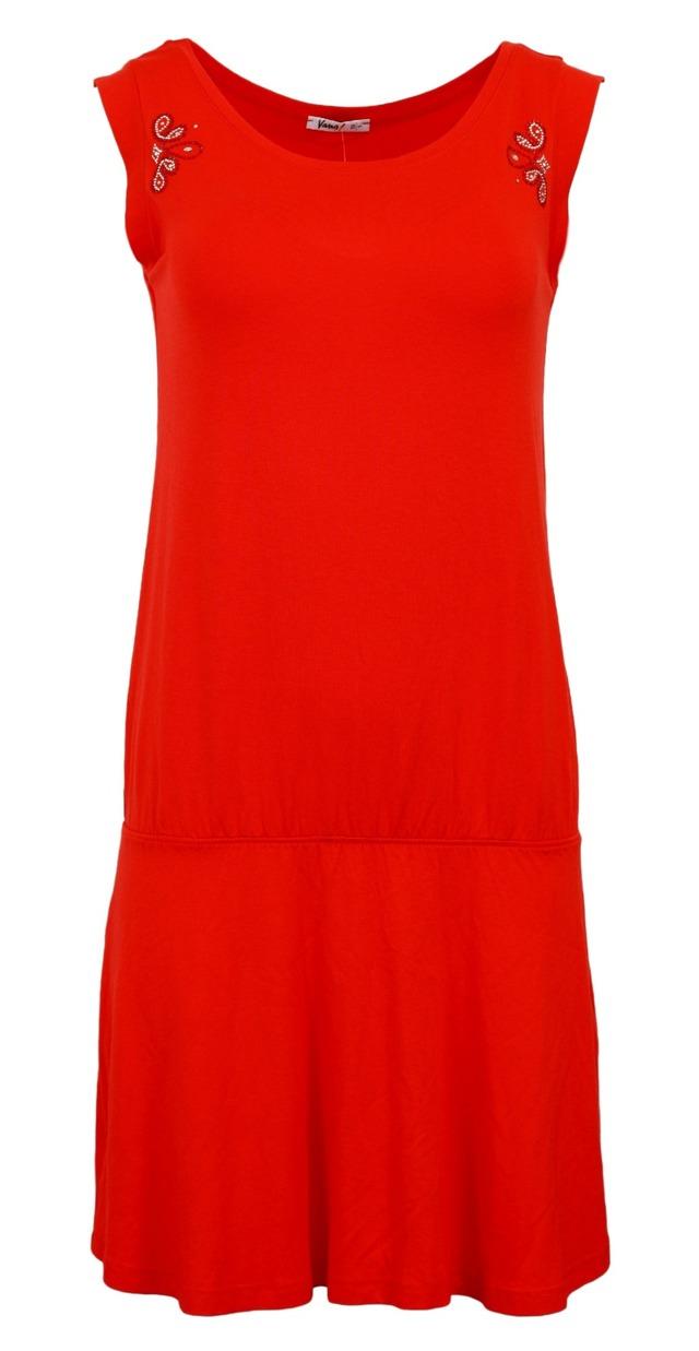 Plážové šaty 4642 - Vamp - XS - oranžová