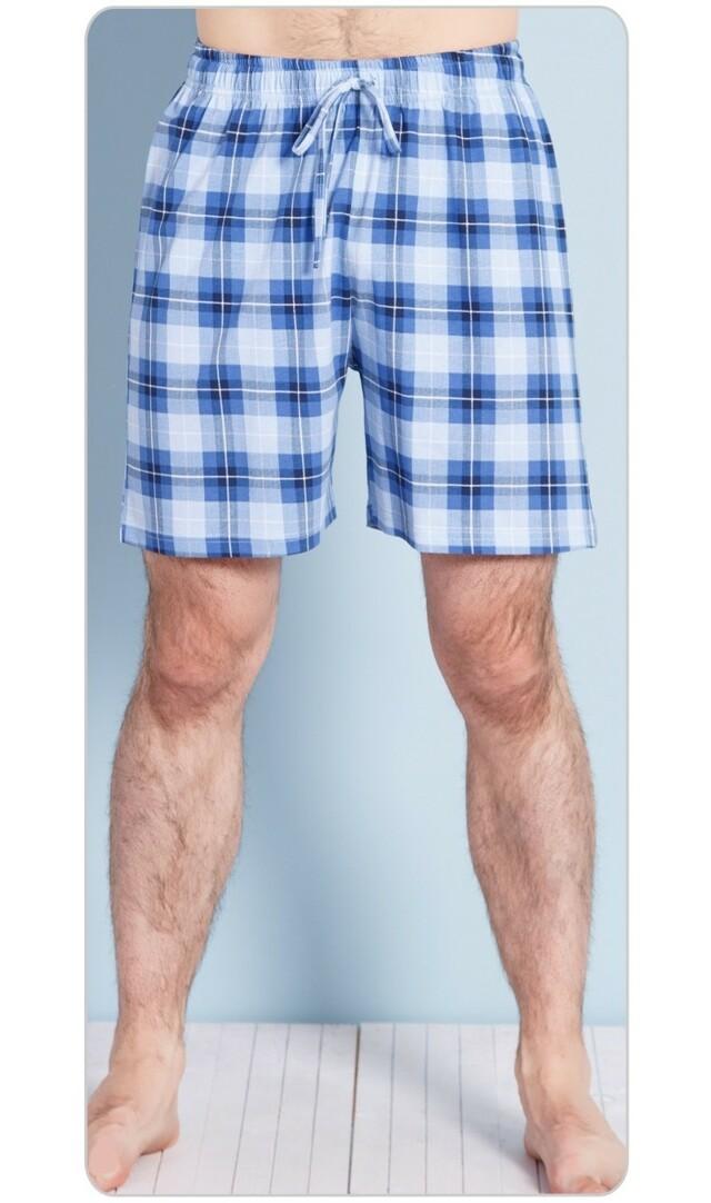 Pánské pyžamové šortky Adam - modrá XL