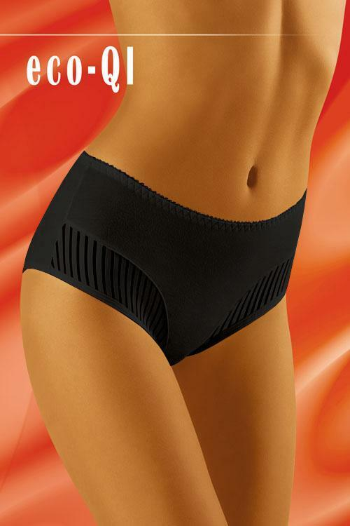 Kalhotky Wol-Bar Eco-QI - M - černá