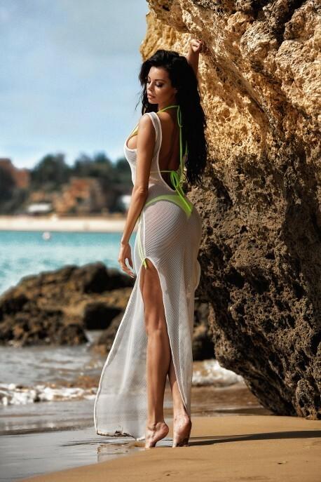 7ebb31e0d318 Dámské plážové šaty S23 - ChickChick - uni - bílá