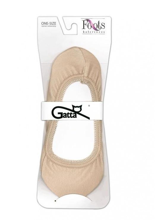 Ponožky do balerín Foots Baletky 04 - Gatta - uni - bílá