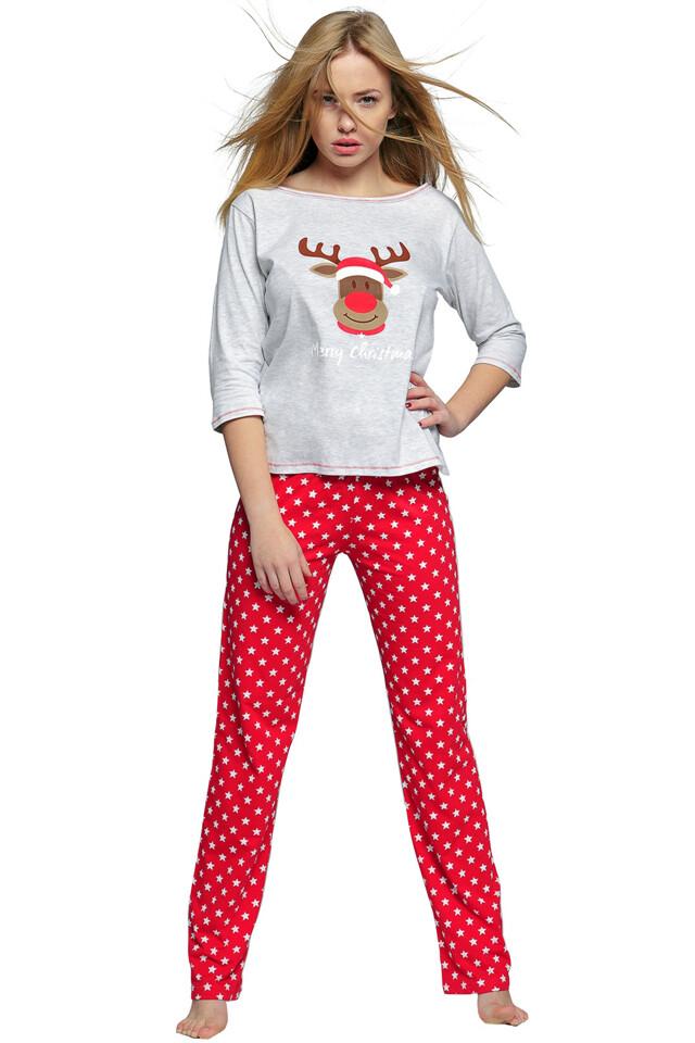 Dámské pyžamo Merry Christmas - L