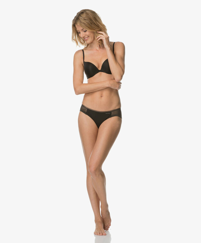 Podprsenka push up Sculpted Plunge Push-up QF1832E - Calvin Klein