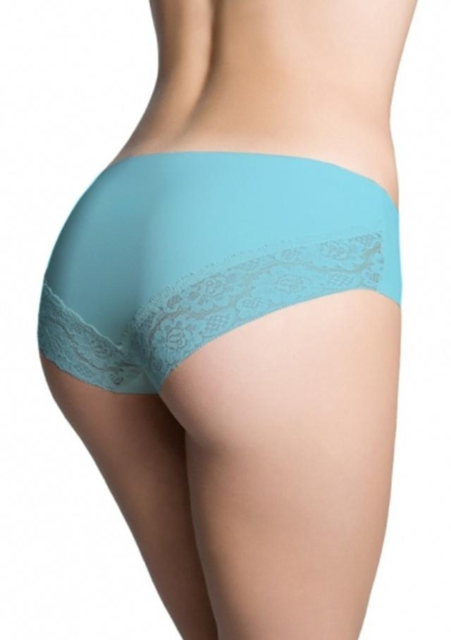 Dámské kalhotky Julimex Cheekie barevné - XL - Světle modrá