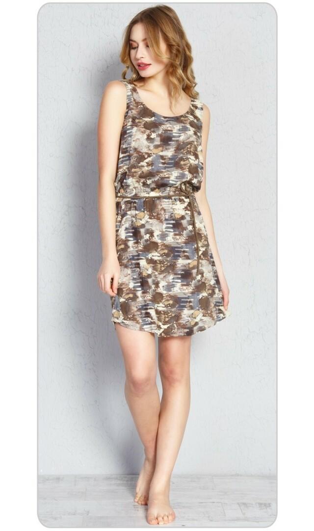 Dámské šaty Jenny - hnědá S