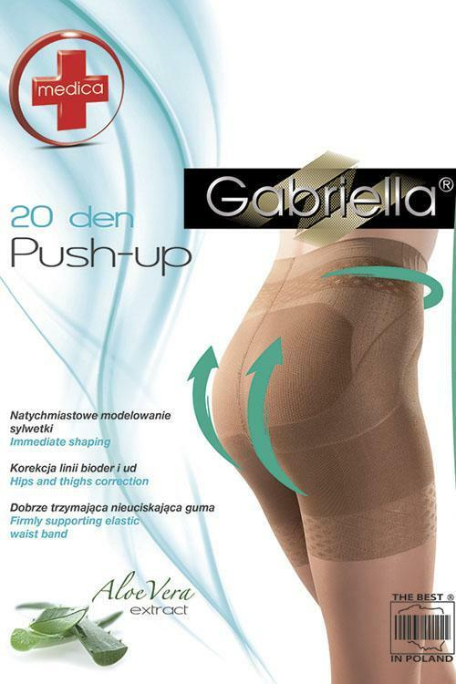 Zeštíhlující punčochové kalhoty Gabriella Medica Push-up 20 Den Code 127