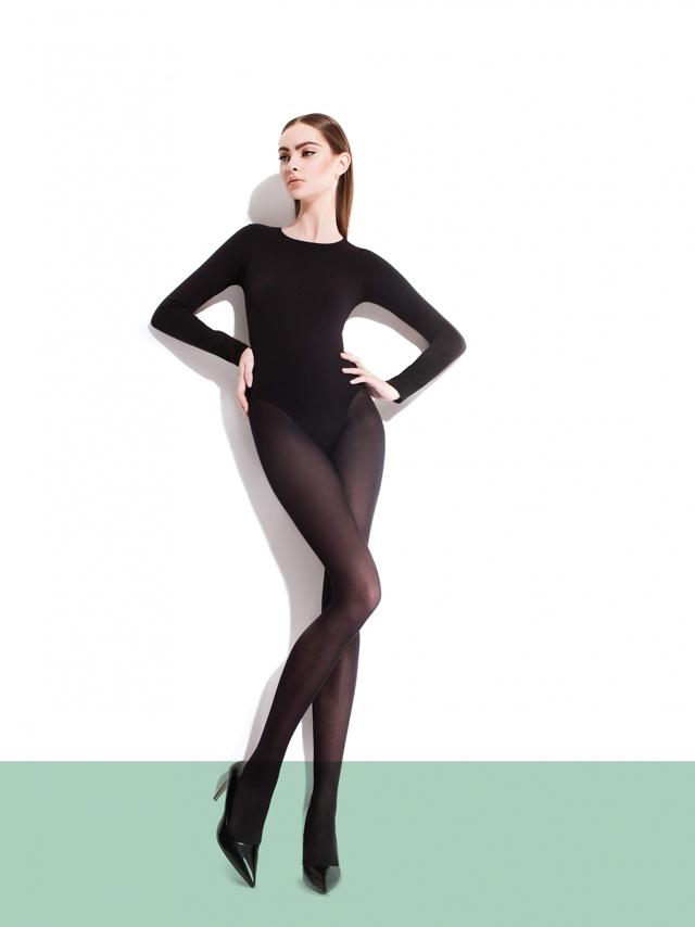 Dámské punčochové kalhoty Fiore Paula C 5109 40 den 2-4 - 4-L - černá