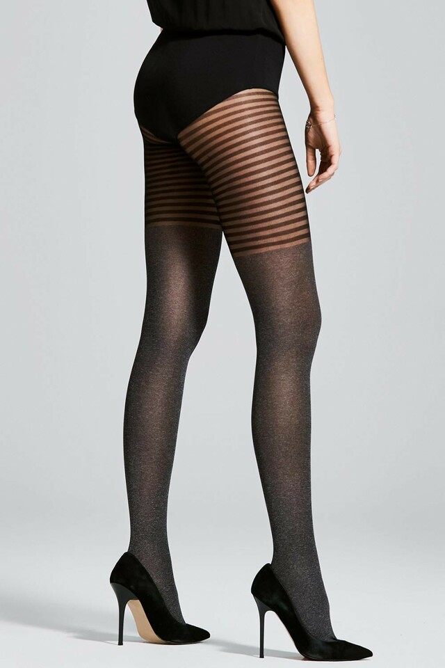Dámské punčochové kalhoty Fiore Bonjour 40 DEN - 3-M - melange