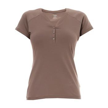 Vrchní díl pyžama S1588E - Calvin Klein - S - hnědá