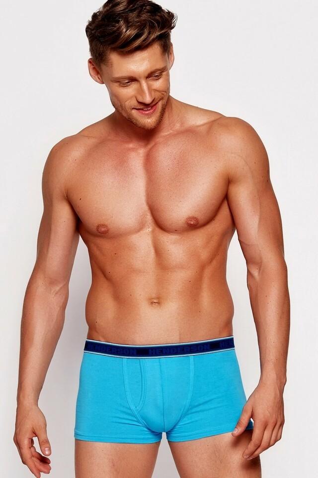 Pánské boxerky 35405 turquoise