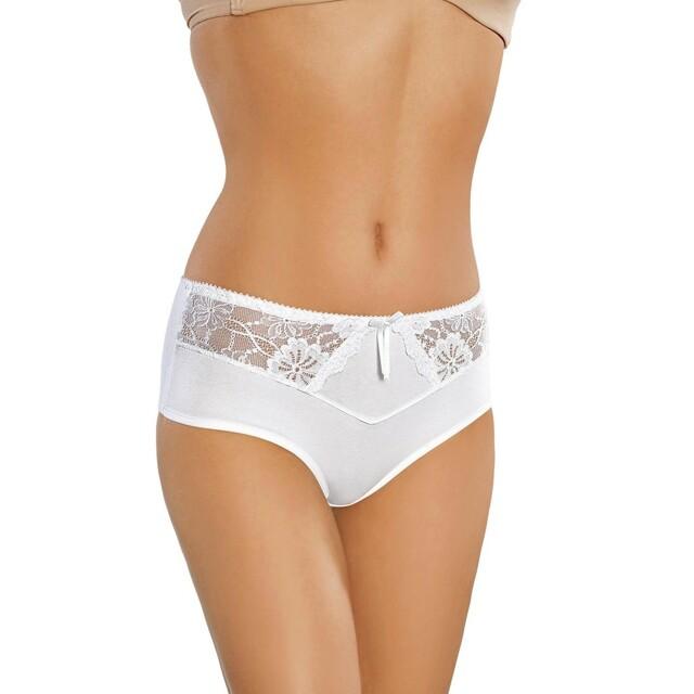 Dámské kalhotky 160 white - XXL - bílá