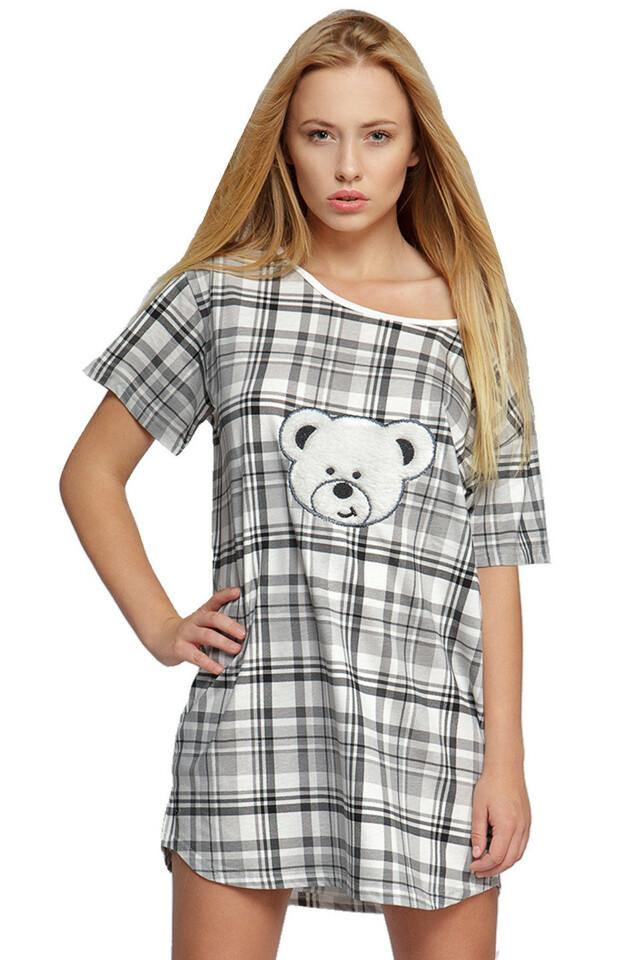 Dámská noční košile Medvídek - uni