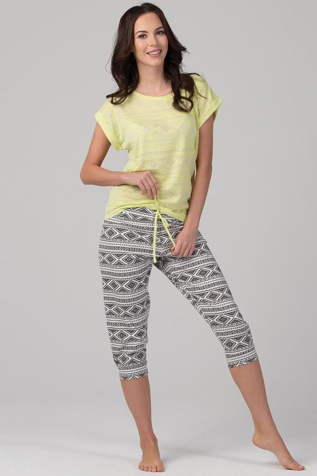 Dámské pyžamo Rossli SAL-PY-1093.I - L - citronová