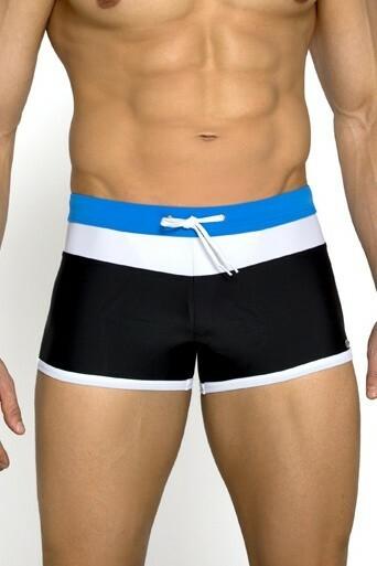 Pánské plavky boxerky Albert modré