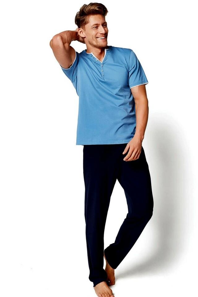 Pánské pyžamo 34981 blue
