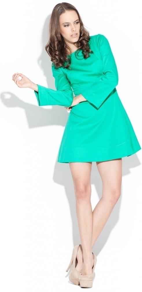 Dámské šaty zelené K006 - Katrus