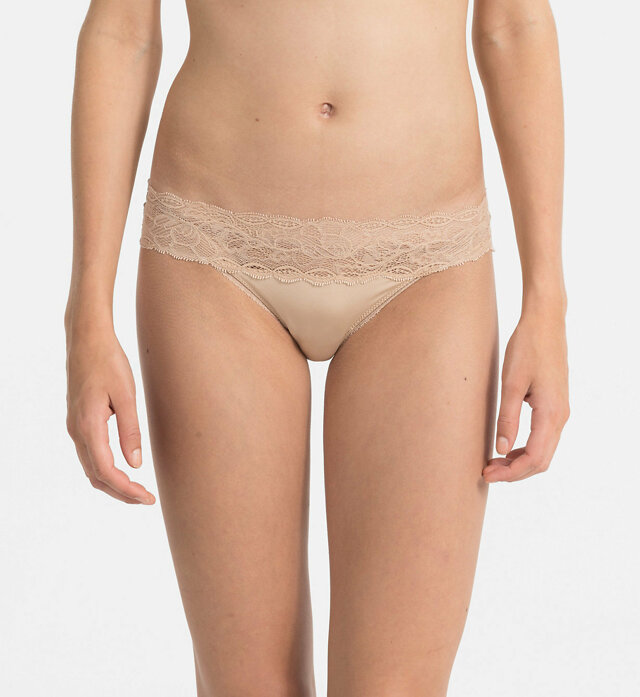 Kalhotky QF1200E tělová - Calvin Klein