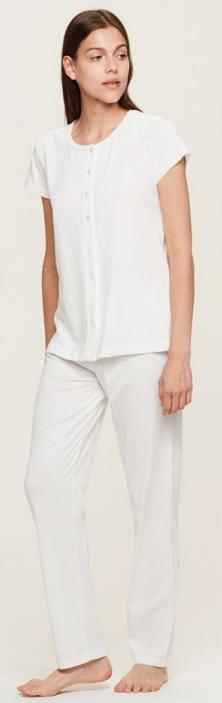 Dámské pyžamo FA6511PB Noidinotte - 44 - bílá