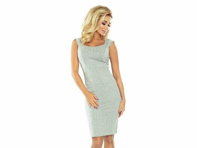 Dámské šaty 53-32 - Numoco - M - šedá