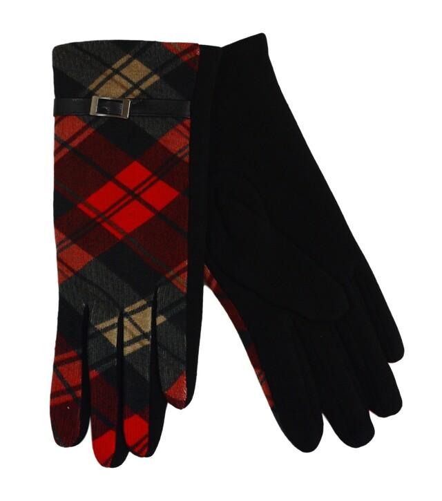 Dámské rukavice - uni - kostka