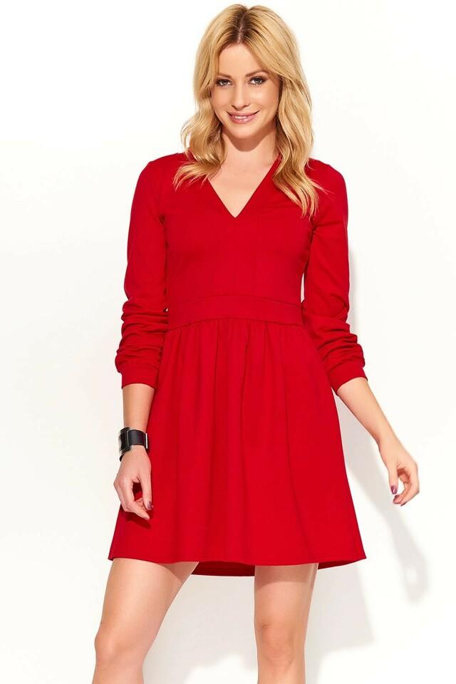 Dámské šaty Makadamia M370 - 40 - červená
