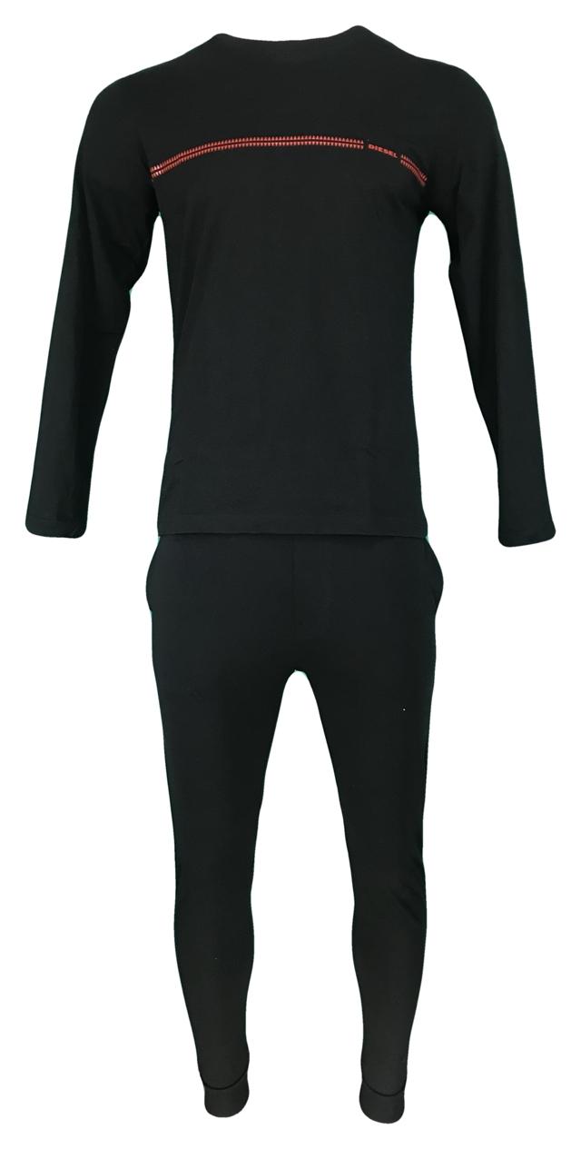 Pánské pyžamo Justin 00SPT5-0IAUO-900 černá - Diesel - L - černá
