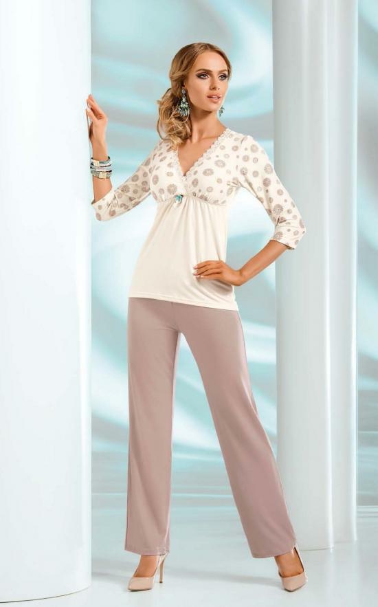 Pyžamo Fabia - Donna - M - krémová