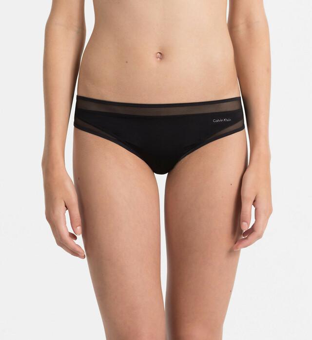 Tanga Naked Touch QF1129E černá T|O Calvin Klein